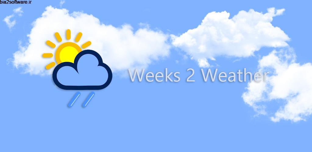 Weather 2 weeks Full 6.0.6 پیش بینی آب و هوا ساده اندروید