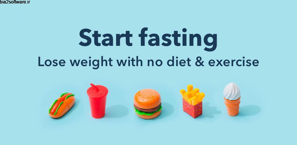 Fasting App Premium 1.0.5 اپلیکیشن کاهش وزن سریع با روزه گرفتن مخصوص اندروید