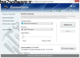 PGWare GameGain 4.1.20.2020 بهینه سازی ویندوز برای اجرای بازی ها
