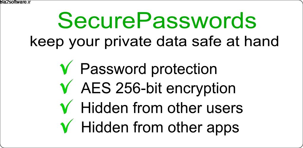 Password Notes PRO 2019.09.23 رمزگذاری یادداشت ها اندروید