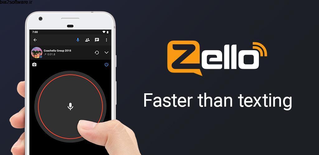 Zello PTT Walkie Talkie 4.84 پیام رسان واکی تاکی اندروید!
