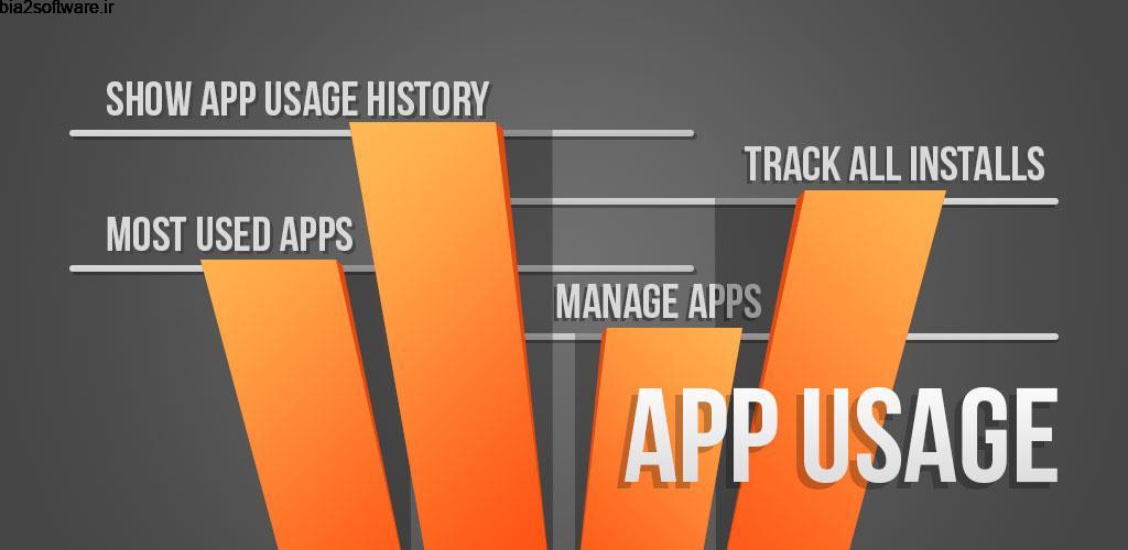 App Usage – Manage/Track Usage Pro 4.95 مدیریت حرفه ای اپلیکیشن ها اندروید