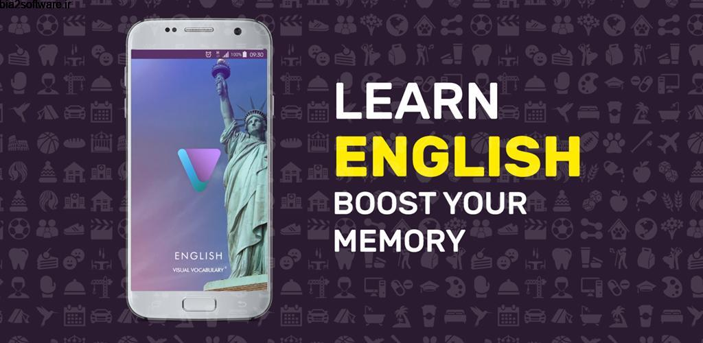 Learn English Vocabulary Premium 4.5 یادگیری واژگان زبان انگلیسی مخصوص اندروید !