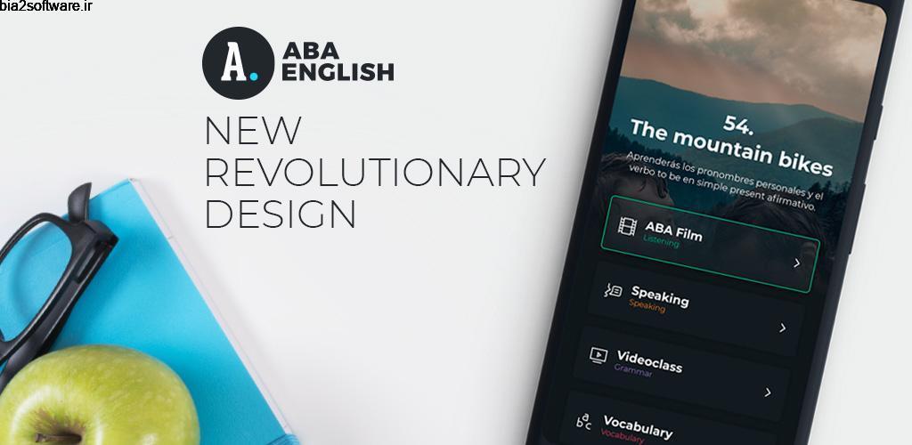 Learn English with ABA English Premium 4.4.2 آموزش کامل و همه جانبه زبان انگلیسی اندروید