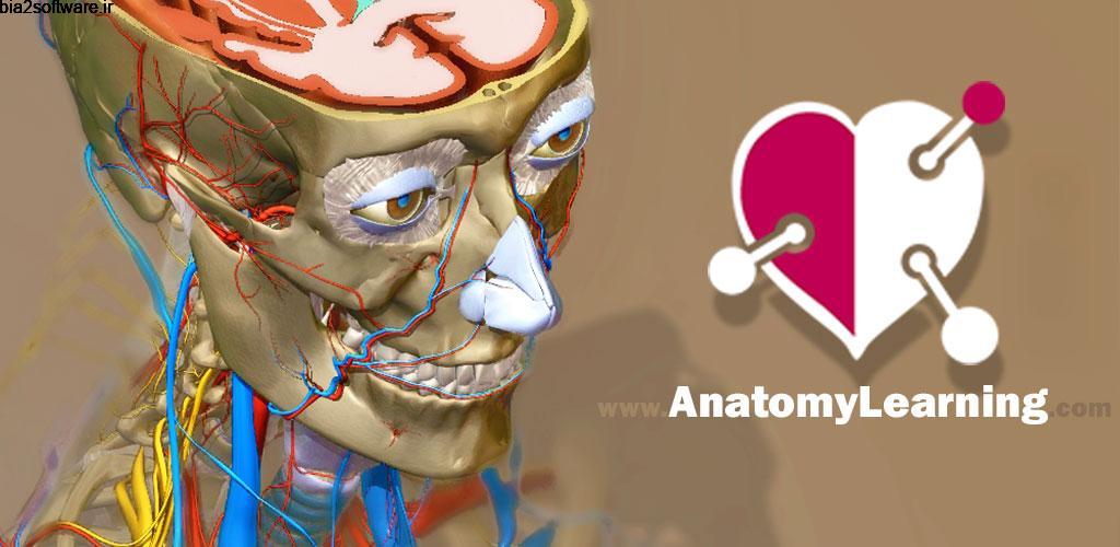 AnatomyLearning 3D OFFLINE – FULL UNLOCKED 2.1 آناتومی آفلاین و سه بعدی بدن انسان مخصوص اندروید