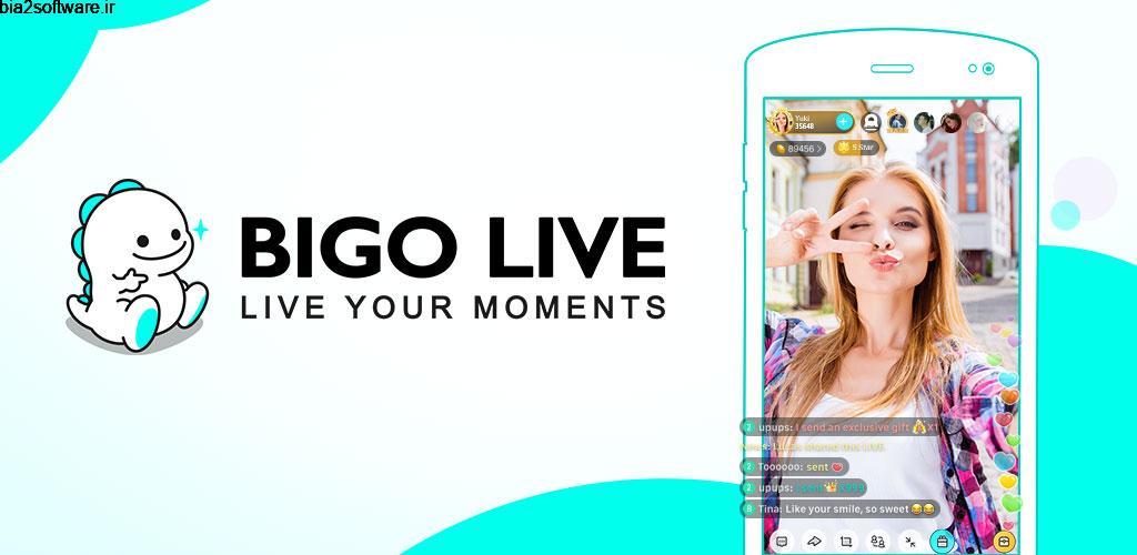 BIGO LIVE–Live Stream, Video Chat, Make Friends 4.30.1 شبکه اجتماعی ویدئویی بیگو لایو مخصوص اندروید