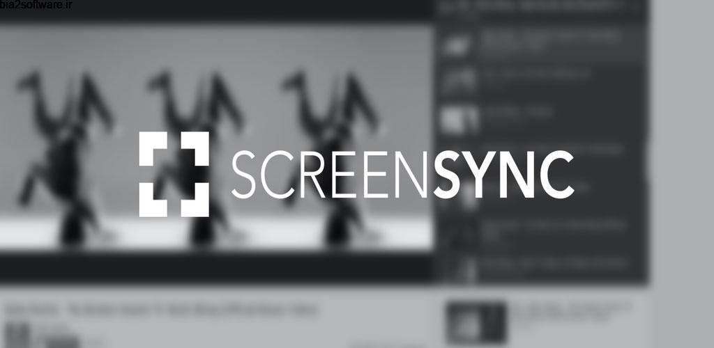 Screensync – Screen Recorder and Streaming Pro 1.7.5.8.3 ضبط ویدئو سریع و پر امکانات صفحه نمایش اندروید