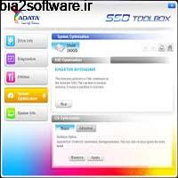 ADATA SSD ToolBox 3.0.6 نمایش اطلاعات مفید از حافظههای SSD