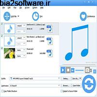 Faasoft Audio Converter 5.4.23.6956 استخراج صدا از فیلم