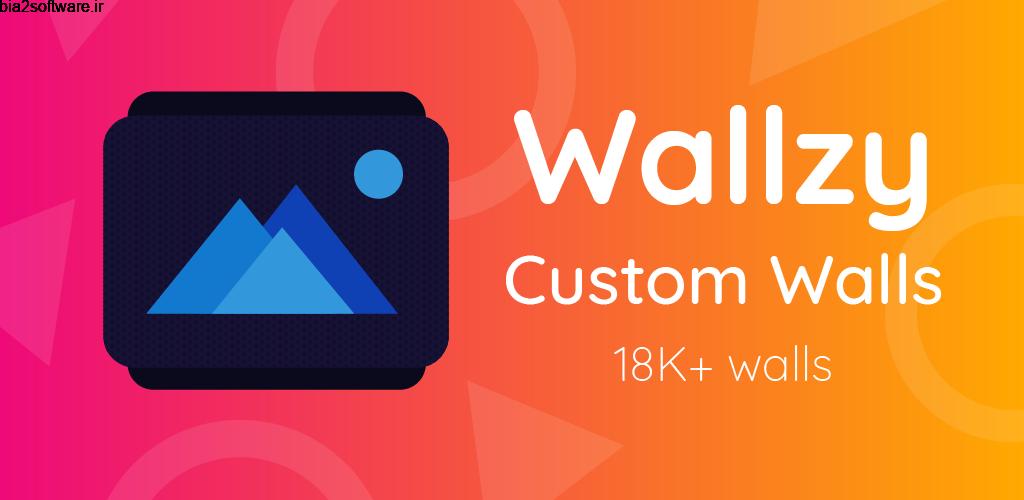 Wallzy Pro – HD Wallpapers 1.8.5 مجموعه تصاویر پس زمینه اندروید