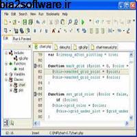 DzSoft PHP Editor 4.2.7.8 کدنویسی صفحات وب