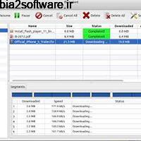 FlareGet 4.8.108 مدیریت و افزایش سرعت دانلود فایل ها