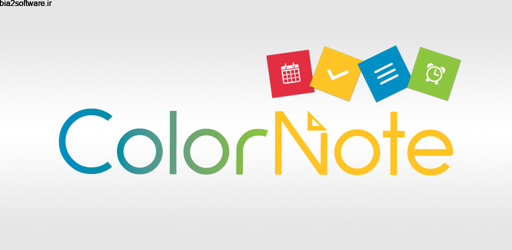 ColorNote Notepad Notes 4.1.5 یادداشت رنگی مخصوص اندروید!