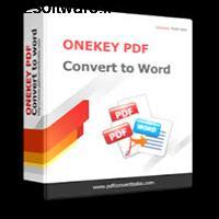 ONEKEY PDF Convert to Word 3.0 تبدیل فایل های PDF به Word