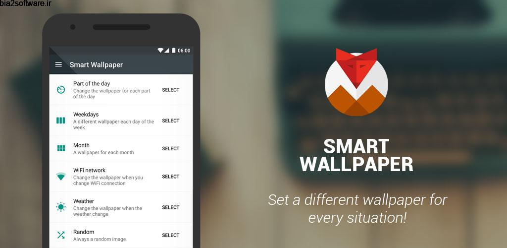 "Smart Wallpaper 2.7.136.PR ""والپیپر هوشمند"" اندروید !"