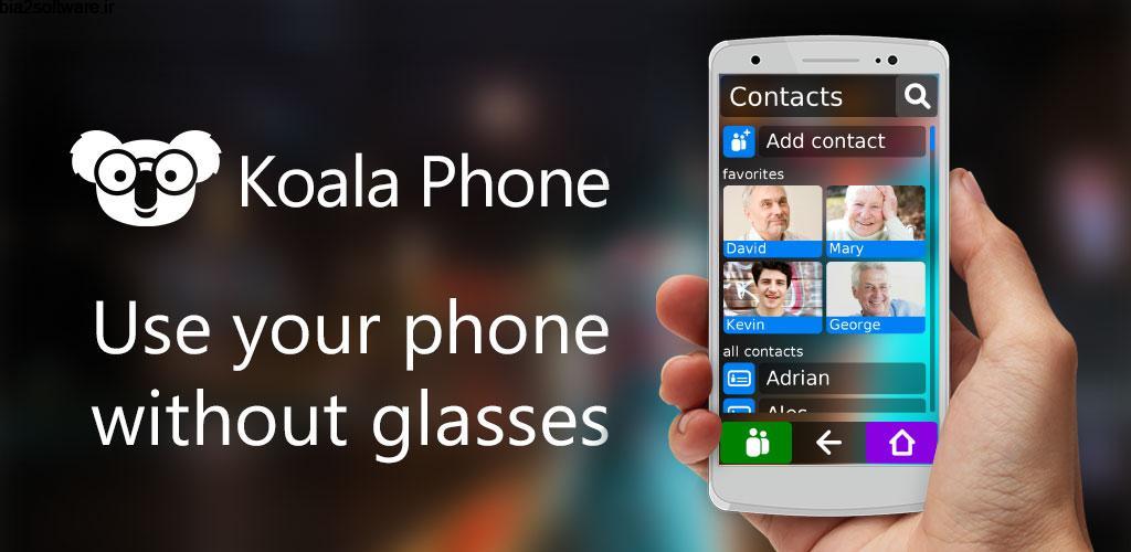 Koala Phone Launcher GOLD 1.22.0 لانچر ساده و هوشمند اندروید !