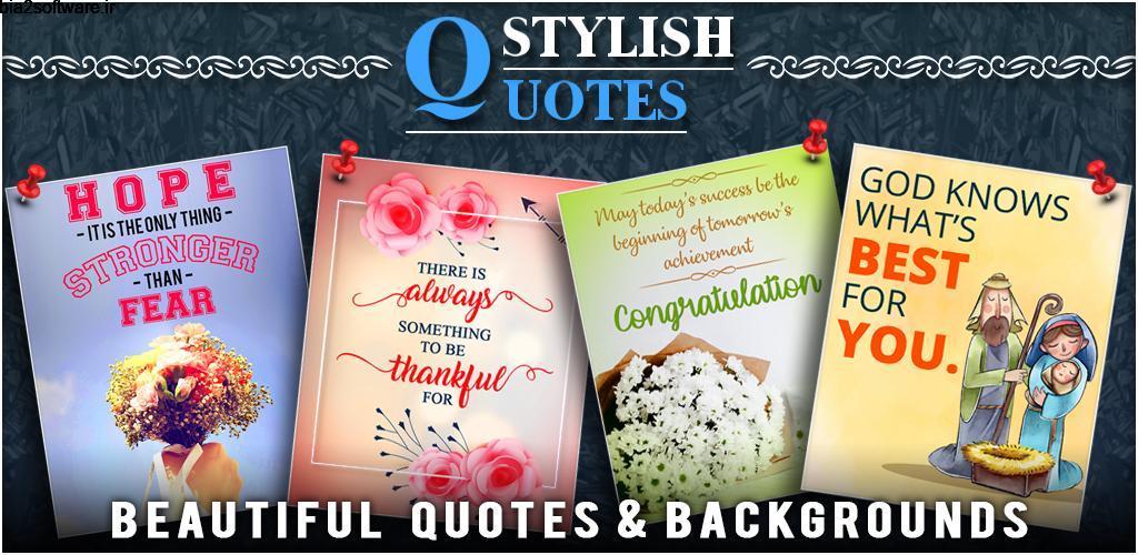Stylish Quotes: Best Picture Quotes & Status Premium 1.0 جملات انگیزشی تصویری مخصوص اندروید !