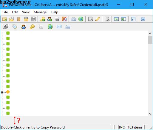 Password Safe 3.42.0 مدیریت رمزهای عبور