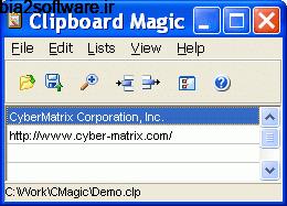 Clipboard Magic 5.04 کلیپ بورد مجیک