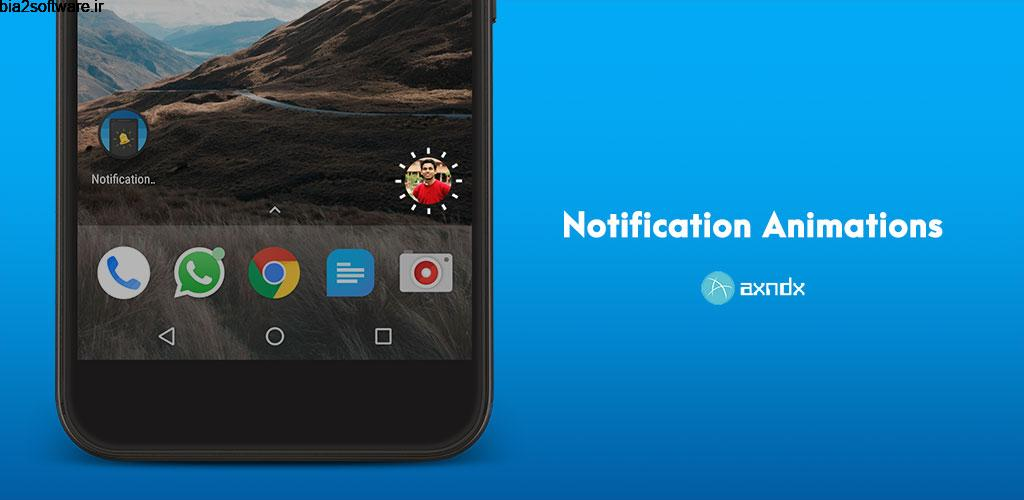 Notification Animations (No Root) Full 1.2 انیمیشن نوتفیکیشن اندروید!