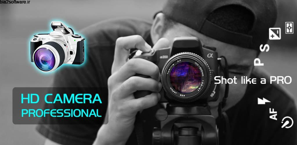 "Fast Camera – HD Camera Professional 1.99R دوربین حرفه ای ""فست کمرا"" اندروید !"