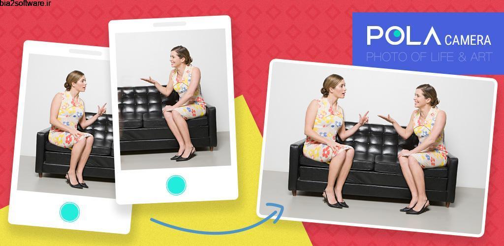 POLA Camera – Beauty Selfie, Clone Camera& Collage Full 1.3.5.3099 دوربین و ویرایشگر حرفه ای تصاویر اندروید