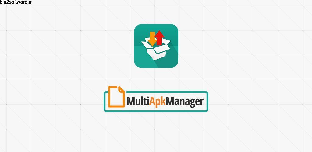 Multi APK Manager Premium 1.0.7 مدیریت گروهی برنامه ها اندروید