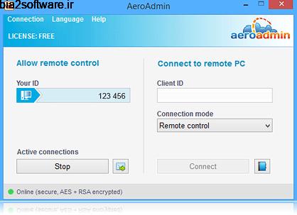 AeroAdmin 4.6 Build 3257 کنترل از راه دور دسکتاپ