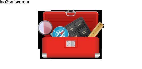 جعبه ابزار هوشمند اندروید با قطب نمای حرفه ای Smart Tool Box – Handy Carpenter Kit 17.9