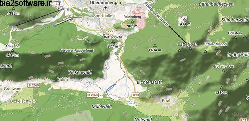 نقشه آفلاین با قابلیت ضبط مسیر در حالت بدون اینترنت Trekarta – offline maps for outdoor activities 2020.04