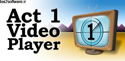 Act 1 Video Player 4.0.1 پخش کننده ویدئویی اس دی کارت اندروید !