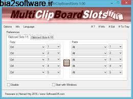 MultiClipBoardSlots 1.01 مدیریت کلیپ بورد