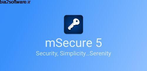 نگهداری از پسوردها mSecure – Password Manager 5.5.6