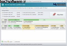 Macrorit Disk Partition Wiper 1.9.0 Unlimited Edition حذف کامل اطلاعات