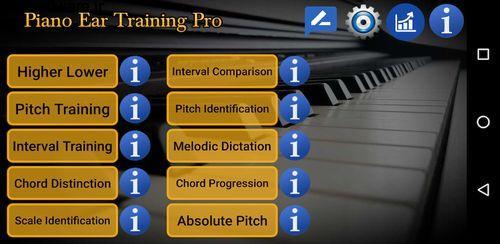 آموزش پیانو برای آماتور ها Piano Ear Training Pro 117