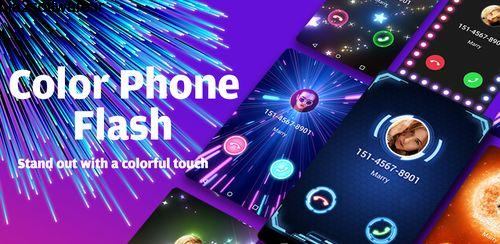 صفحه تماس عاشقانه اندروید Color Phone Flash – Call Screen Theme, LED 1.3.7