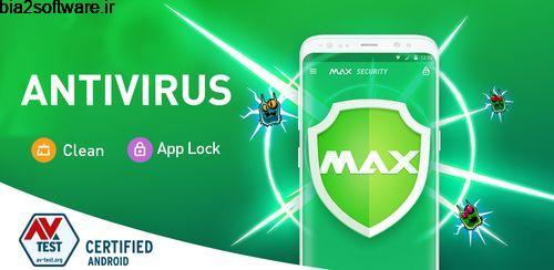 آنتی ویروس اندروید رایگان مکس Virus Cleaner, Antivirus, Cleaner (MAX Security) 2.0.7
