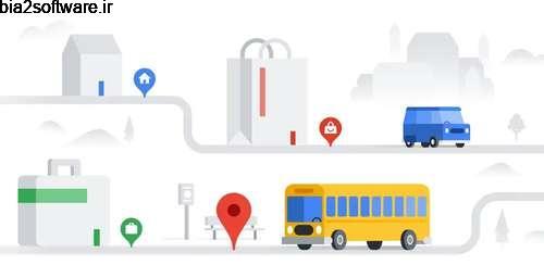 نسخه سبکتر نرم افزار گوگل مپ با امکان نمایش ترافیک Google Maps Go – Directions, Traffic & Transit 98