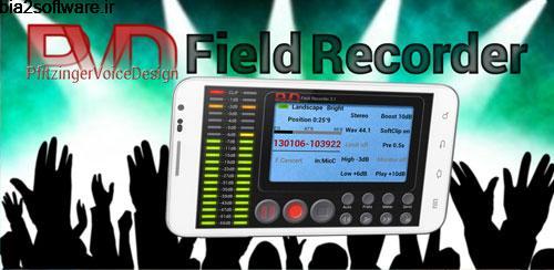 ضبط صدا با پشتیبانی از SS08 Field Recorder 9.0