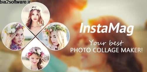 Photo Collage – InstaMag v4.6.0 ساخت کلاژ اندروید