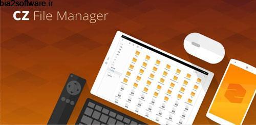 مدیریت فایل برای اندروید CZ File Manager v5.3.3