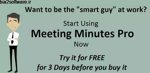 Meeting Minutes Pro v36 یادآور اندروید