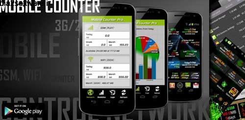 Mobile Counter Pro – 3G, WIFI v5.3 کنترل مصرف اینترنت برای اندروید