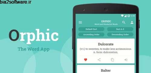 Orphic v2.7.5 دیکشنری اندروید