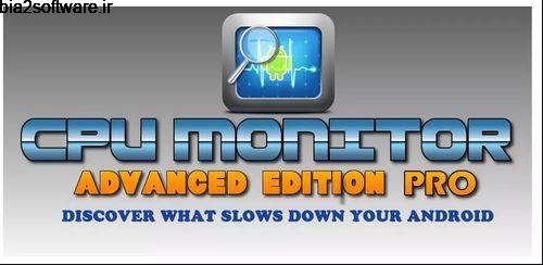 CPU Monitor 6 PRO v6.55 مانیتور سی پی یو اندروید