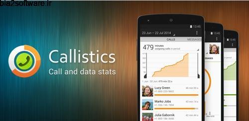 Callistics – Calls, Data usage Premium v2.6.4 مدیریت مصرف اینترنت