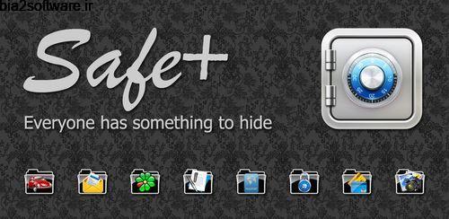 گذاشتن رمز روی فایل ها Safe+ 1.50.1