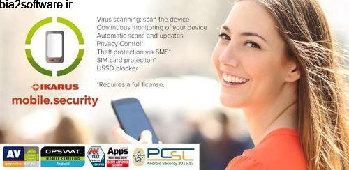 IKARUS mobile.security v1.7.68 آنتی ویروس برای اندروید