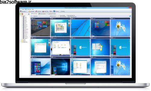 نظارت و کنترل سایر کامپیوترها در شبکه Network LookOut Administrator Pro 3.8