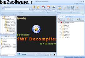 ریسورس و ویرایش فایل های فلش Sothink SWF Decompiler 7.4